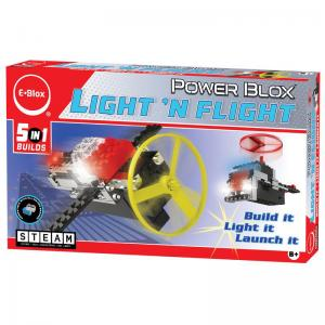 Circuit Blox, Story Blox, and Light 'N Flight