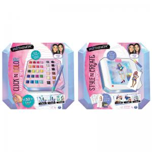 WeWearCute Inkfluencer Click N Color Marker Set and Style N Create Light Desk