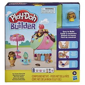 Play-Doh Builder Ice Cream Stand Kit and Treehouse Kit