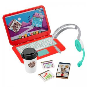 Work from Home Office and Laugh & Learn Smart Stages Piggy Bank