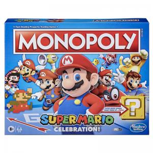 Super Mario Celebration Monopoly & Super Mario Jenga