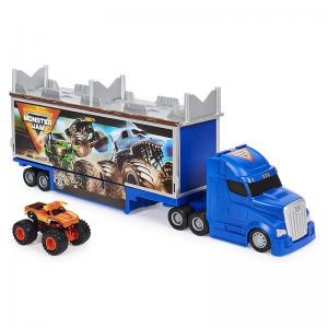 Monster Jam Official 2-in-1 Transforming Hauler Playset