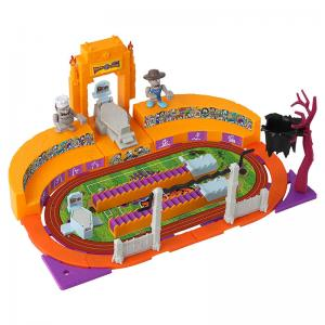 World of Zombies Deluxe Sports Stadium and Figures