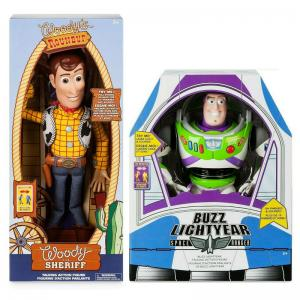 Toy Story Talking Action Figures Woody and Buzz Lightyear
