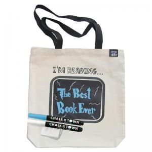 Chalk of the Town Tote Bag and Stencils