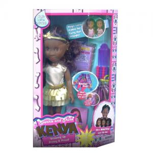 Sparkle and Shine Kenya Doll & Styling Head