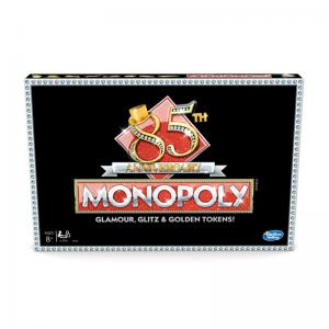 Monopoly 85th Anniversary, Monopoly Bid, Monopoly Disney Villains, and Monopoly Pixar