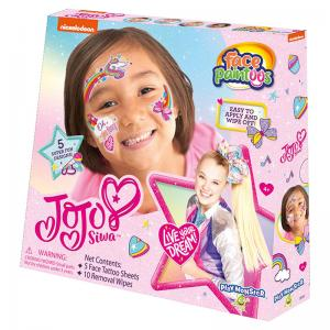 PAW Patrol and JoJo Siwa Face Paintoos