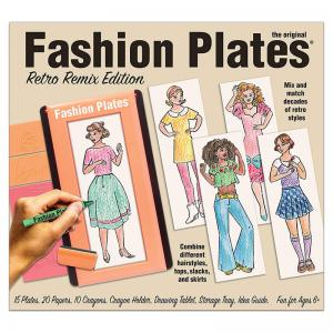 Fashion Plates Retro Remix Edition and Superstar