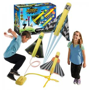 Stomp Rocket 3 Stunt Planes and Dueling Rockets