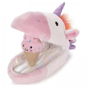 Unicorn, Shark, and Dragon Plush Pods