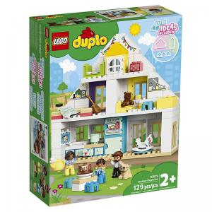 LEGO Duplo Modular Playhouse, Bakery, Alphabet Truck, and Tower Crane & Construction
