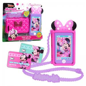 Disney Junior Minnie Mouse Picture Perfect Play Camera and Chat with Me Cell Phone