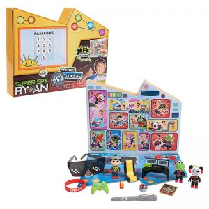 Ryan's World Pry and Smash Surprise Treasure and Super Spy Ryan Mystery Spy Console