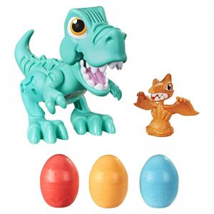 Play-Doh Dino Crew Crunchin' T-Rex and Growin' Tall Bronto