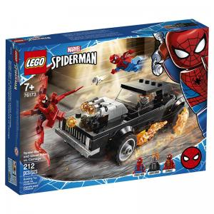 LEGO Marvel Spider-Man and Sandman Showdown, Spider-Man and Ghost Rider vs. Carnage, & More