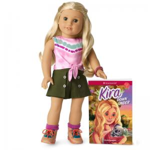 American Girl Kira Doll, Accessories, Animal Exam Table, and Comfy Platform Tent
