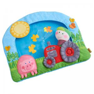 Farm Water Play Mat, Roly Poly Bear, & Cuddly Donkey Lu Snuggly