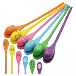 Easter Egg and Spoon Race Game Set and Outdoor Lawn Games