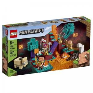 LEGO Minecraft The Warped Forest and The First Adventure Sets