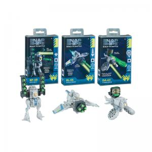 Snap Ships Forge and Komplex Fusion Building Sets