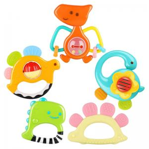 Dinosaur Baby Rattles and Teethers