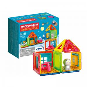 Cube House Penguin and Frog Sets