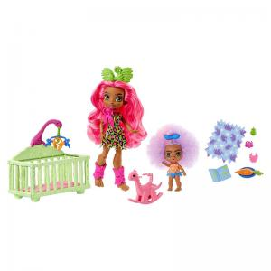 Cave Club Fernessa & Furrah Wild About Babysitting Playset