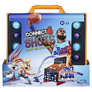 Space Jam: A New Legacy Connect 4 Shots and Monopoly