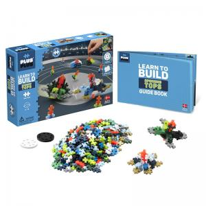 Travel Case, Spinning Tops, and Street Racing Super Set