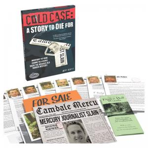 Cold Case: A Story to Die For and A Pinch of Murder Games