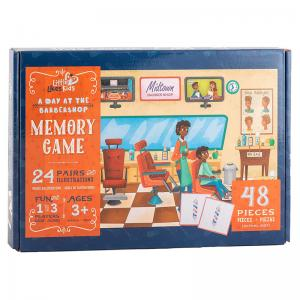 A Day at the Barbershop Memory Game and Musical Crossroads Jumbo Puzzle