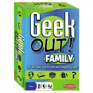 Geek Out! Family, 80's, 90's, and 00's Editions Games
