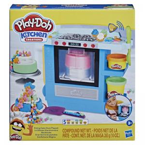 Play-Doh Kitchen Creations Rising Cake Oven Playset