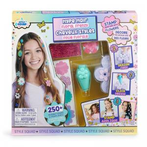 Style Squad Hype Hair Floral Frenzy Styling Set