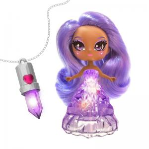 Crystalina Color-Changing Sprite Amethyst and Aventurine Dolls