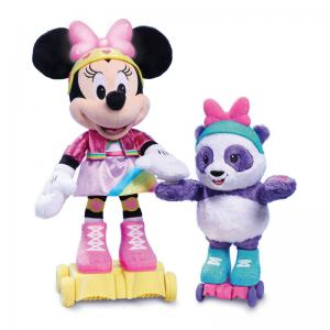 Disney Junior Minnie Roller-Skating Party Minnie Mouse Plush