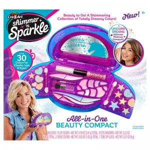 Shimmer 'n Sparkle All-in-One Beauty Compact