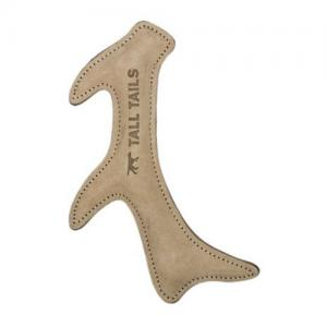 Natural Leather Antler and Crunch Gator Dog Toys