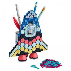 LEGO DOTS Space Ship and Cactus Pencil Holders Multi Packs