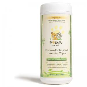 Pet Grooming Wipes and Compostable Waste Bags