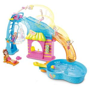 Polly Pocket Flip & Swim Playset
