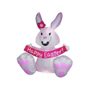 Airblown Inflatable Bunny