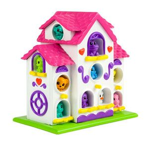 Squinkies Zinkies Tweetings Birdhouse