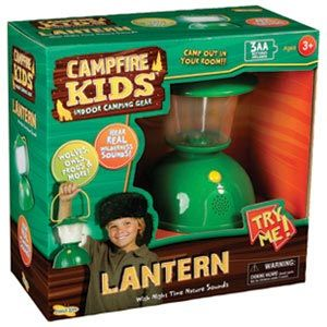 Campfire Kids Lantern with Night Time Nature Sounds