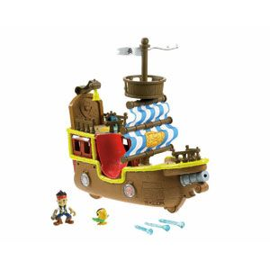 Jake and the Never Land Pirates Jake's Musical Pirate Ship Bucky