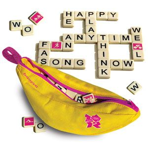 London 2012 Bananagrams