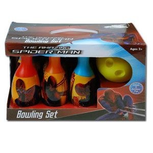 The Amazing Spider-Man Bowling Set