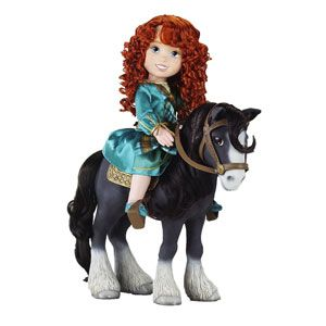Disney/Pixar's Brave Merida with Angus
