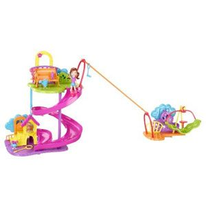 Polly Pocket Wall Party Pet Park